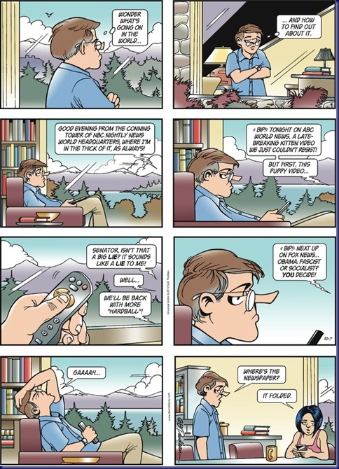 Doonesbury 121007 Kitten Video On the News
