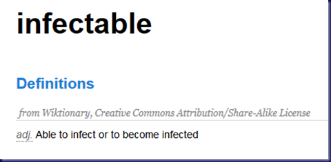 Infectable