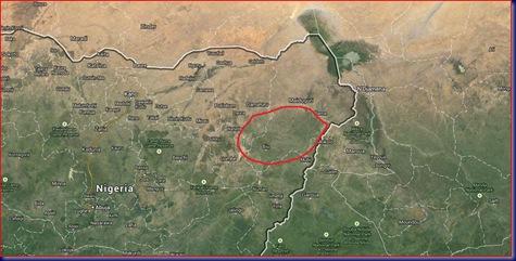 Sambisa Forest Map