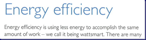 WattSmart - Efficiency