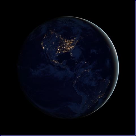 Night Lights of the Americas