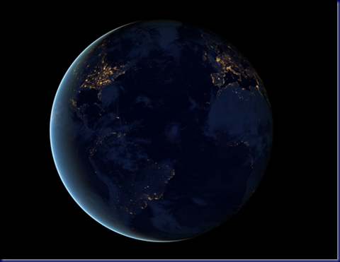 Night Lights of the Atlantic Littoral