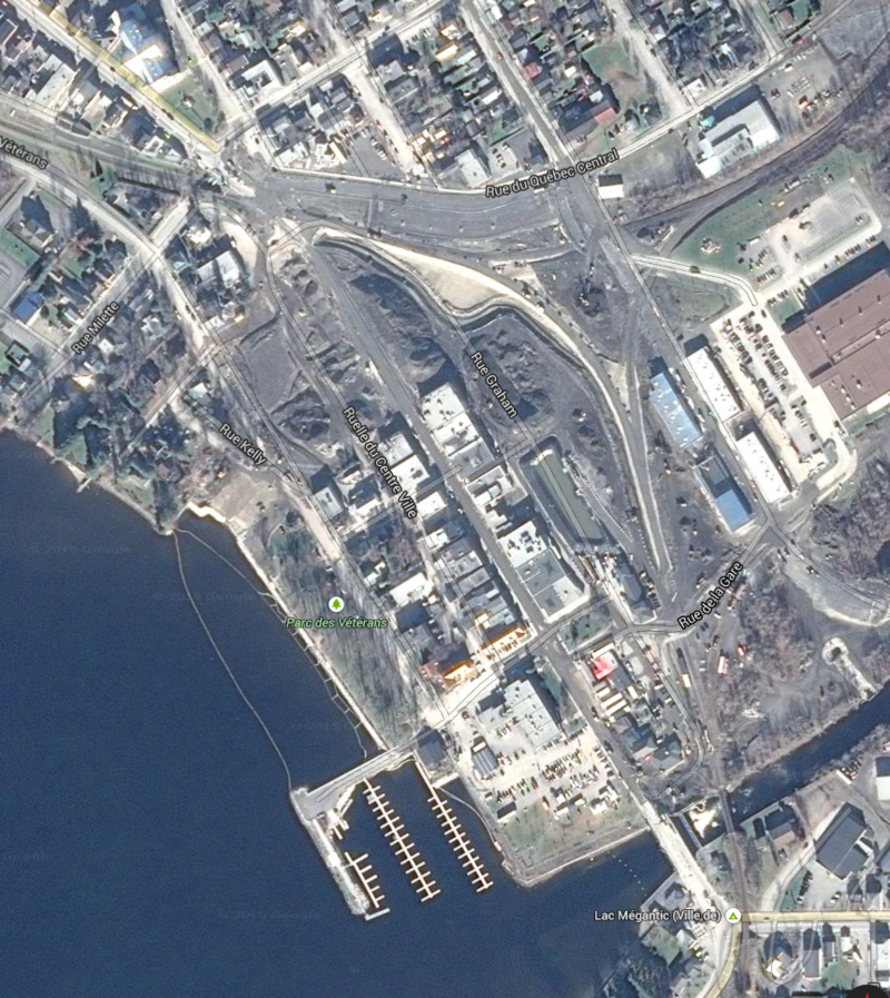 15-02-26, Lac-Megantic Google Maps Capture